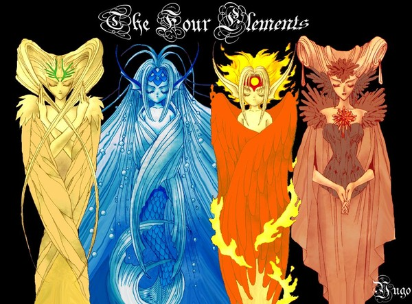 The_Four_Elements_by_y3rk0